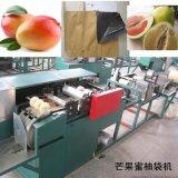 文旦柚紙質套袋加工設備玉環柚子果袋機