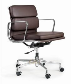 真皮办公椅 (EA-217L),伊姆斯办公椅,设计师办公椅,办公椅厂家