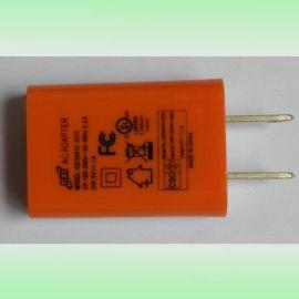 小米充电器 USB充电器 6W电源适配器 深圳厂家直销 出口美国 插墙式环保板 3.0V2A 实物图片