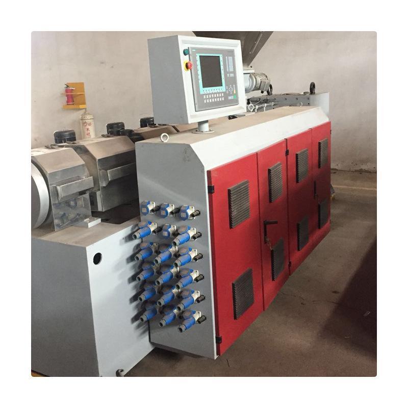 供應各種型號塑料擠出造粒機 35/40/45/50塑料型材擠出機生產線