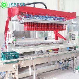 装箱机厂家直销全自动抓取式装箱机饮料啤酒抓取式装箱机生产设备