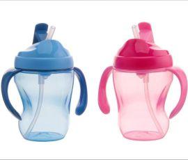 嬰幼兒學飲杯 防漏带手柄易握饮水杯 宝宝训练喝水杯