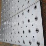 厂家专业订做不锈钢圆孔起鼓翻边防滑板冲孔网 楼梯防滑踏步板