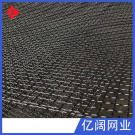 厂家直销304不锈钢编织轧花网 高锰钢震动矿筛网 304不锈钢钢丝网