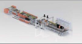 锂电池隔离膜干法纵拉生产线