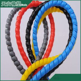 供应PP螺旋保护套 油管保护套 耐磨电缆保护套