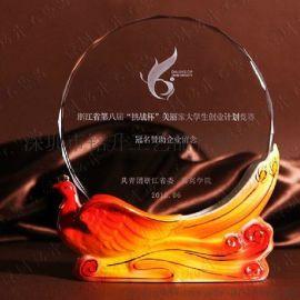 雕刻水晶摆台 水晶影像摆件  **水晶奖牌