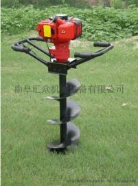 简阳电线杆挖坑机_电线杆挖坑机品牌,纯汽油挖坑机图片