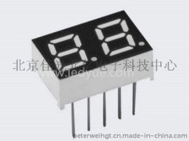 0.28英寸双二2位led数码管红光北京天津河北数字面板显示