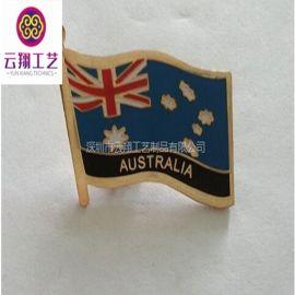 北京徽章制作、专业定做双交联盟胸针 厂家定做异形烤漆胸章