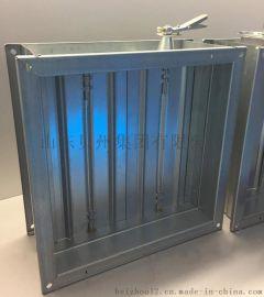 镀锌板风量调节阀  不锈钢电动风量调节阀厂家