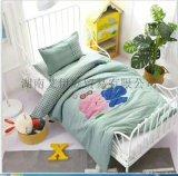 广西北海儿童被套四件套儿童床上用品定制生产厂家