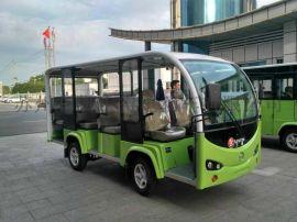 景区载客小帮手,四轮14座观光电动车