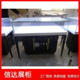 不锈钢珠宝展览柜首饰陈列柜透明玻璃展示柜