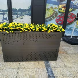 不锈钢创意花盆定制园林绿化金属花盆厂家