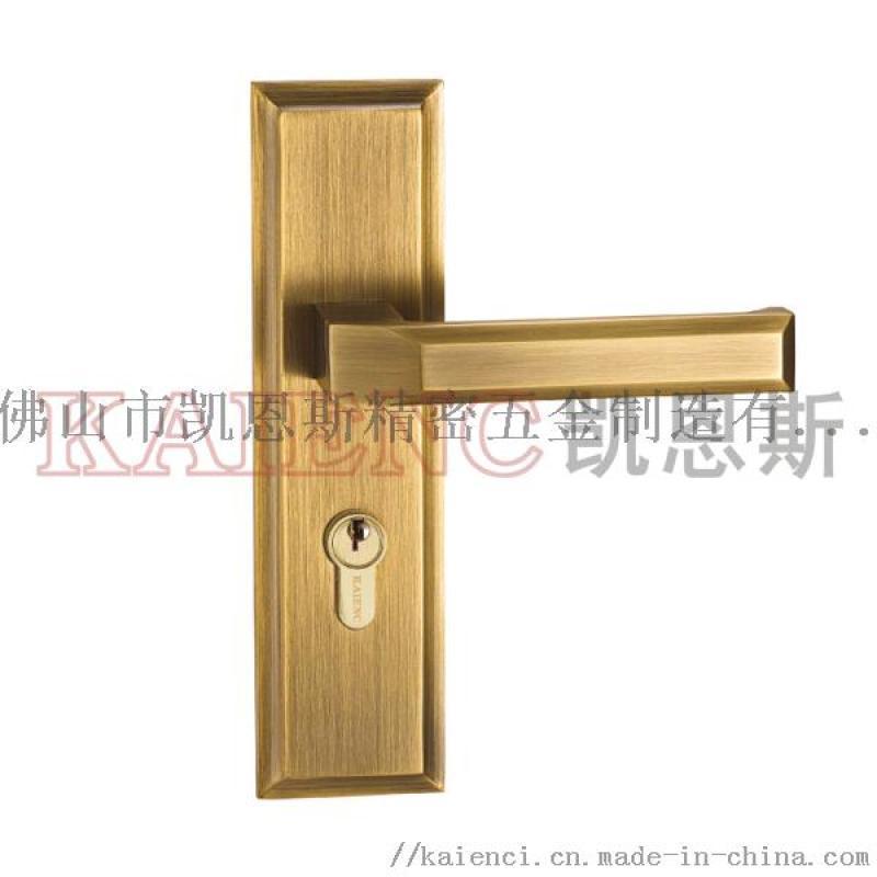 广东纯铜  锁具 室内门锁 凯恩斯房间门锁厂家
