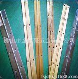 铜排铰用于高级铜箱柜铜长铰链铜合页铜工业铰链 0.8*1.5寸*1800