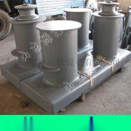源隆供应双柱铸铁系船柱风暴系船柱系船柱预埋件