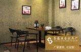 餐厅餐桌椅 实木餐桌 实木圆桌一桌六椅