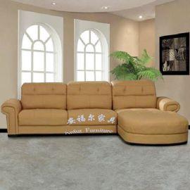 惠州工厂直销安福尔家具转角沙发布艺沙发组合沙发贵妃沙发 顡色尺寸大小可订做