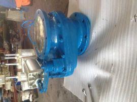 供应诺威ZKA-10气旋转陶瓷圆盘阀 电厂专用盘阀 摆动阀 双盘
