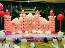 南充气球制作公司、南充宝宝宴气球装饰、南充气球创意公司、南充气球拱门151-8297-8140