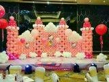 南充氣球制作公司、南充寶寶宴氣球裝飾、南充氣球創意公司、南充氣球拱門151-8297-8140