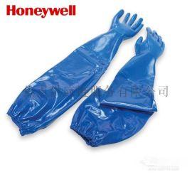 霍尼韦尔 NK803ES 丁腈涂层防化手套 加长66cm 8/9码