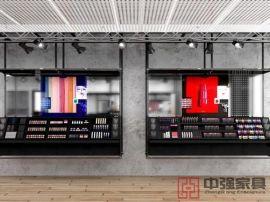 供应无锡化妆品展示柜台设计制作