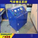 高压气体增压系统 氮气氧气高压增压泵0-100mpa