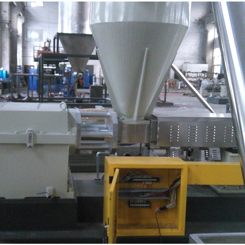 侧喂料造粒生产线 塑料造粒机厂家直销高效造粒机