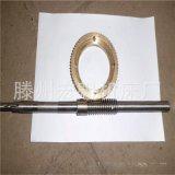 厂家直销铜涡轮 齿轮滕州钻床配件Z3040/3050摇臂钻铜涡轮 蜗杆