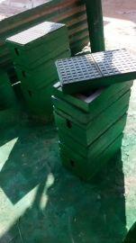 绿色三层防震垫铁减震垫铁