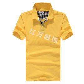 上海红万男、女全系列T恤生产 定制 可加logo