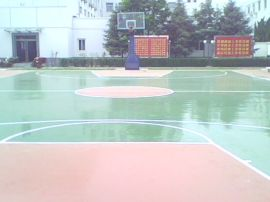 塑胶篮球场 (LQC013)