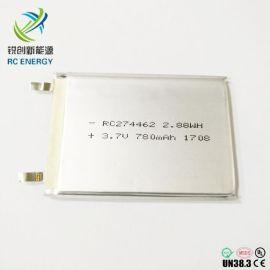 聚合物 电池274462 3.7V780mAh电池厂家