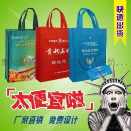 泰安无纺布手提袋购物袋资料袋厂家加工定做