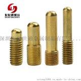 龙华铜螺丝定制 M2.6内梅花通信设备用铜螺丝