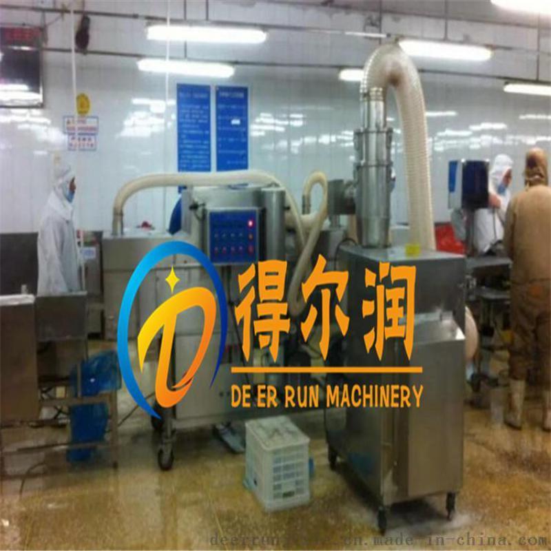 隧道玉米布丁酥上浆裹粉机 DR不锈钢上浆裹糠设备