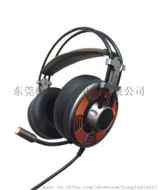 台盾耳机V10 网吧游戏耳机 电脑耳机 头带式耳机