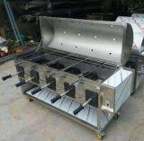 无烟环保净化烧烤车全自动旋转烤羊腿1.5米2米