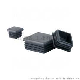 50X50方形管塞 方管堵頭 塑料正方形管塞 黑色