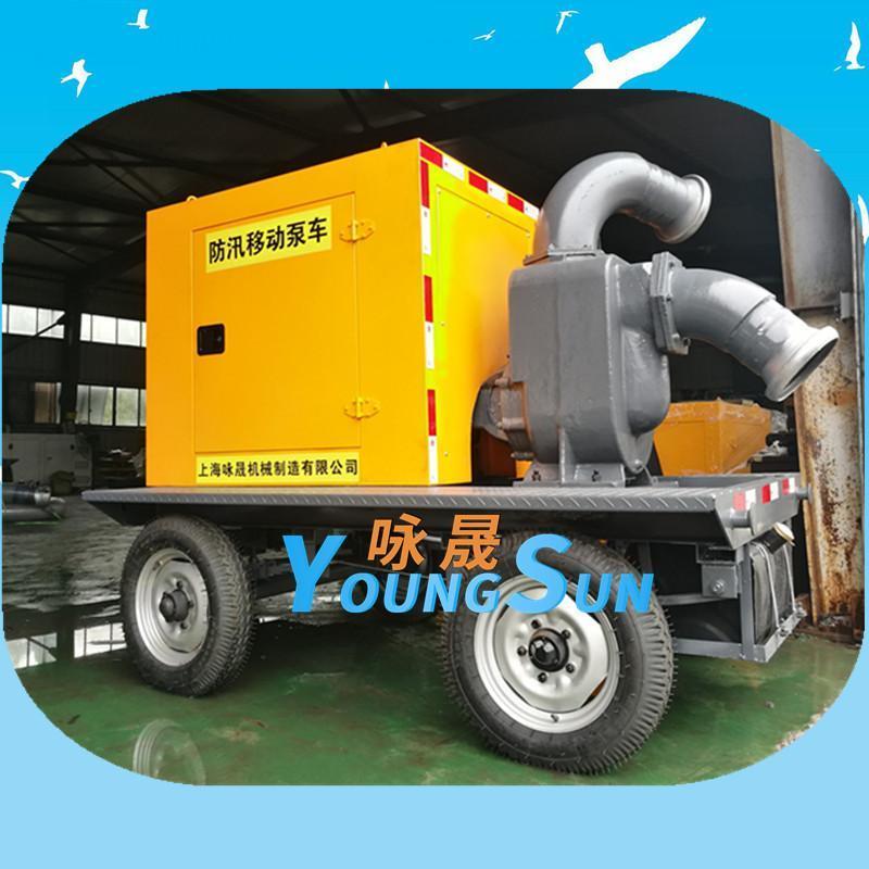8寸柴油機水泵 康明斯動力抽水機