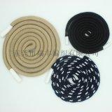 厂家直销 胶头编织棉绳 服饰编织棉绳