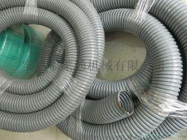 穿线不锈钢包塑软管 波纹状PVC披覆不锈钢软管