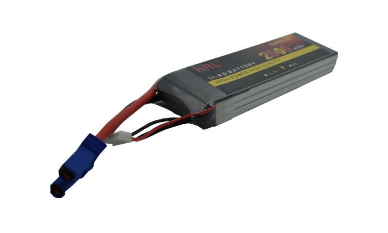 高倍率鋰電池3S30C 11.1V 2500mAh