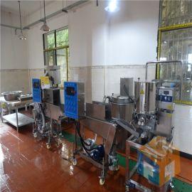 供应全自动肉饼成型机+黑椒鸡块成型机生产线