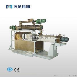 水产饲料颗粒加工设备 江苏全新双螺杆膨化机
