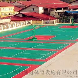 武漢市籃球場懸浮地板湖北拼裝地板廠家
