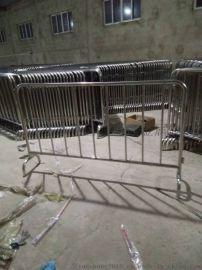 供应不锈钢铁马护栏车站铁马围栏排队护栏可定制
